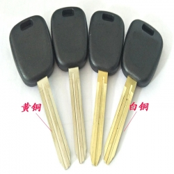 铃木丰田胚钥匙壳黄白铜锁匙Suzuki Toyota keys shell yellow copper keys